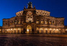 Semper opera house Dresden (Semperoper) Stock Images