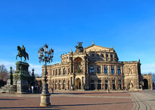 Semper Opera House, Dresden, Germany Stock Photo