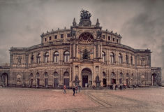 The Semperoper Royalty Free Stock Photo