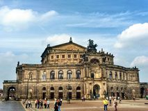 Semperoper Stock Afbeelding