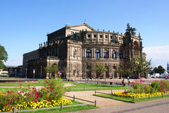 Semperoper in Dresden Royalty Free Stock Photography