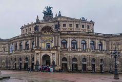 Semperoper Dresden Obraz Stock