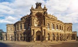 Semperoper Dresden Royalty Free Stock Photos