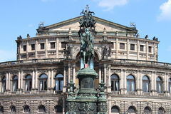 Semperoper, Dresden (Germany) Stock Photos