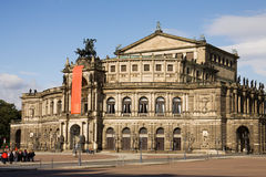 The Semperoper in Dresden, Germany Stock Photography