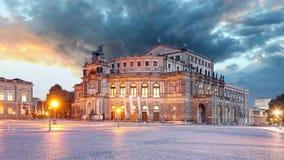 Semperoper in Dresden, Germany Stock Photos