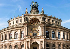 Semperoper in Dresden Stock Image