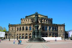 Semperoper Dresden zdjęcie royalty free