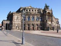Semperoper en Dresden Imágenes de archivo libres de regalías
