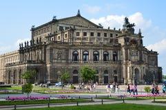 Semperoper en Dresden Imagen de archivo libre de regalías