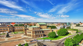 Semperoper is the opera house of the Sachsische Staatsoper Dresden Stock Photography