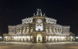 Semperoper (Saxon State Opera) Dresden, Germany Royalty Free Stock Image