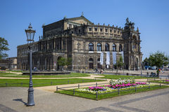 Semperoper (Saxon State Opera) Dresden, Germany Royalty Free Stock Images