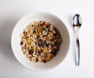 Semplicemente brealfast del cereale Fotografia Stock Libera da Diritti