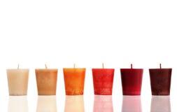 Semplicemente candele Fotografie Stock