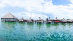 Semporna-Ozean-Tourismus-Mitte lizenzfreie stockbilder