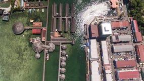 Semporna-Ozean-Tourismus-Mitte stockbild
