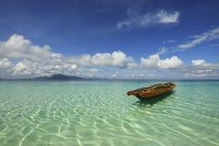 Semporna, Sabah em Malaysia Fotos de Stock Royalty Free