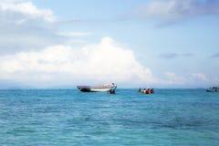 Semporna Tanjung is Strand stock fotografie