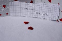 Sempre amore Fotografie Stock