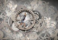 Sempre ocupado no trabalho Imagem de Stock Royalty Free