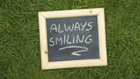 Sempre sorridendo Fotografia Stock