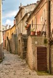 Semproniano saturnia Tuscany 3 obrazy royalty free