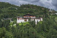 Semtokha Dzong, Тхимпху, Бутан стоковая фотография