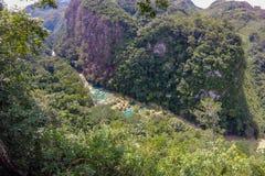 Semuc Champey, Guatemala fotografia stock