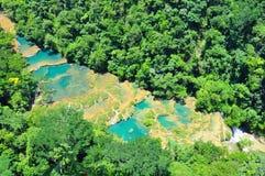 Semuc Champey, Guatemala Image stock