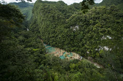 Semuc Champey, Guatemala, travel stock photo