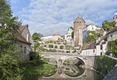 Semur-en-Auxois Royalty Free Stock Photo
