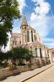 Semur-en-Auxois Bourgogne Royaltyfri Foto