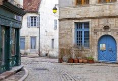 Semur-en-Auxois, Medieval Town Stock Photo