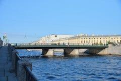 Semyonov bridge over the Fontanka river Stock Photography