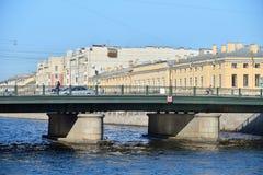 Semyonov bridge over the Fontanka river Royalty Free Stock Images
