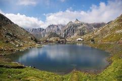 Sen-Bernard pass, Swiss Alps Stock Photography