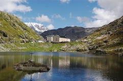 Sen-Bernard passaggio, alpi svizzere Immagine Stock Libera da Diritti