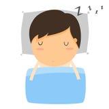 Sen, dzieciaków spać ilustracja wektor