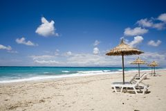sen na plaży Fotografia Royalty Free