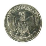 sen omvänt mynt 1961 för 50 indones arkivfoton