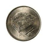 sen omvänt mynt 2006 för 20 malaysian arkivfoton