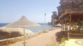 Sen plaża Obrazy Royalty Free