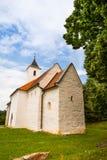 Sen-romansk kyrka Arkivfoton