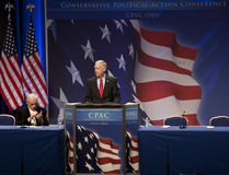 Sen. Ron Johnson an CPAC 2011 Stockfoto