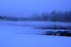 Sen w zimie Fotografia Royalty Free