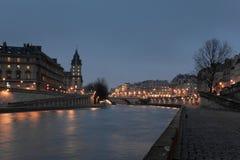 Sena ποταμός, Παρίσι Στοκ φωτογραφία με δικαίωμα ελεύθερης χρήσης