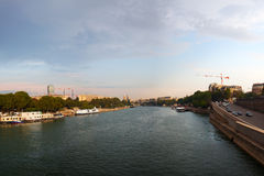 Sena river, Paris, France. Stock Photography
