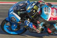 Sena Yamada Moto3 Grand Prix Movistar Aragà ³ ν MotoGP Στοκ Εικόνες