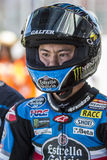 Sena Yamada. Moto3. Junior Team Estrella Galicia. Royalty Free Stock Image